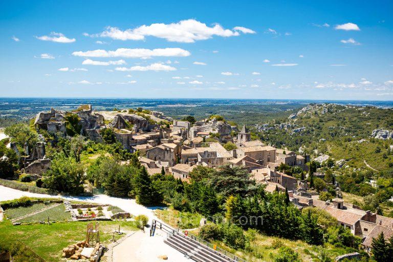 Aerial view of Les Baux-de-Provence