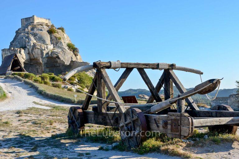 Catapult in Les Baux-de-Provence