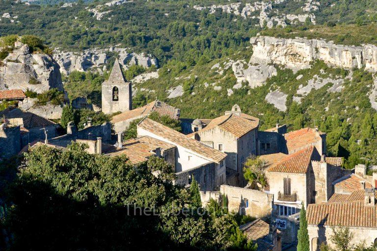 Rooftops in Les Baux-de-Provence