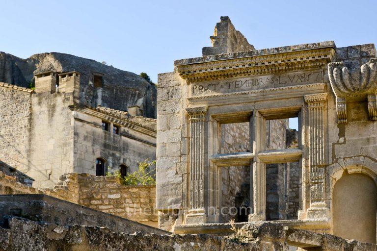 Remains at Les Baux-de-Provence