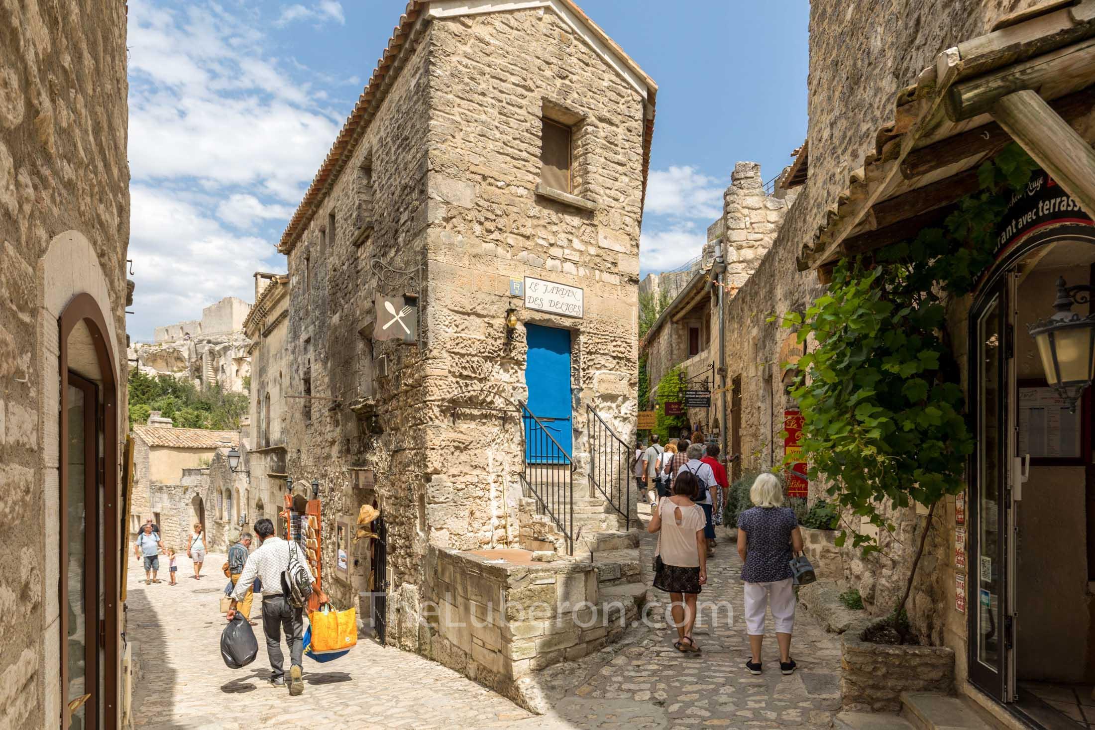 Village centre Les Baux-de-Provence