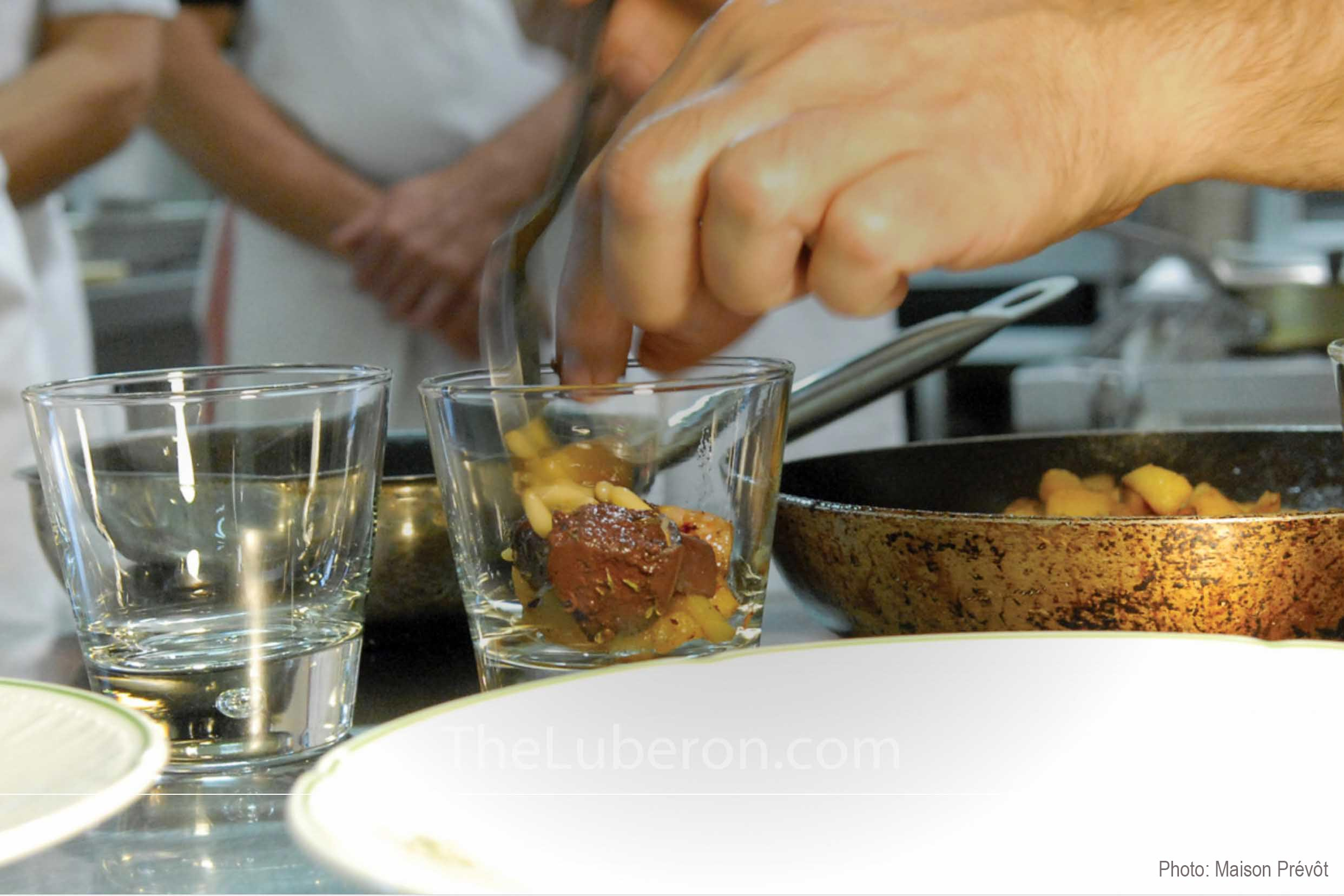 Cookery class at Maison Prévot