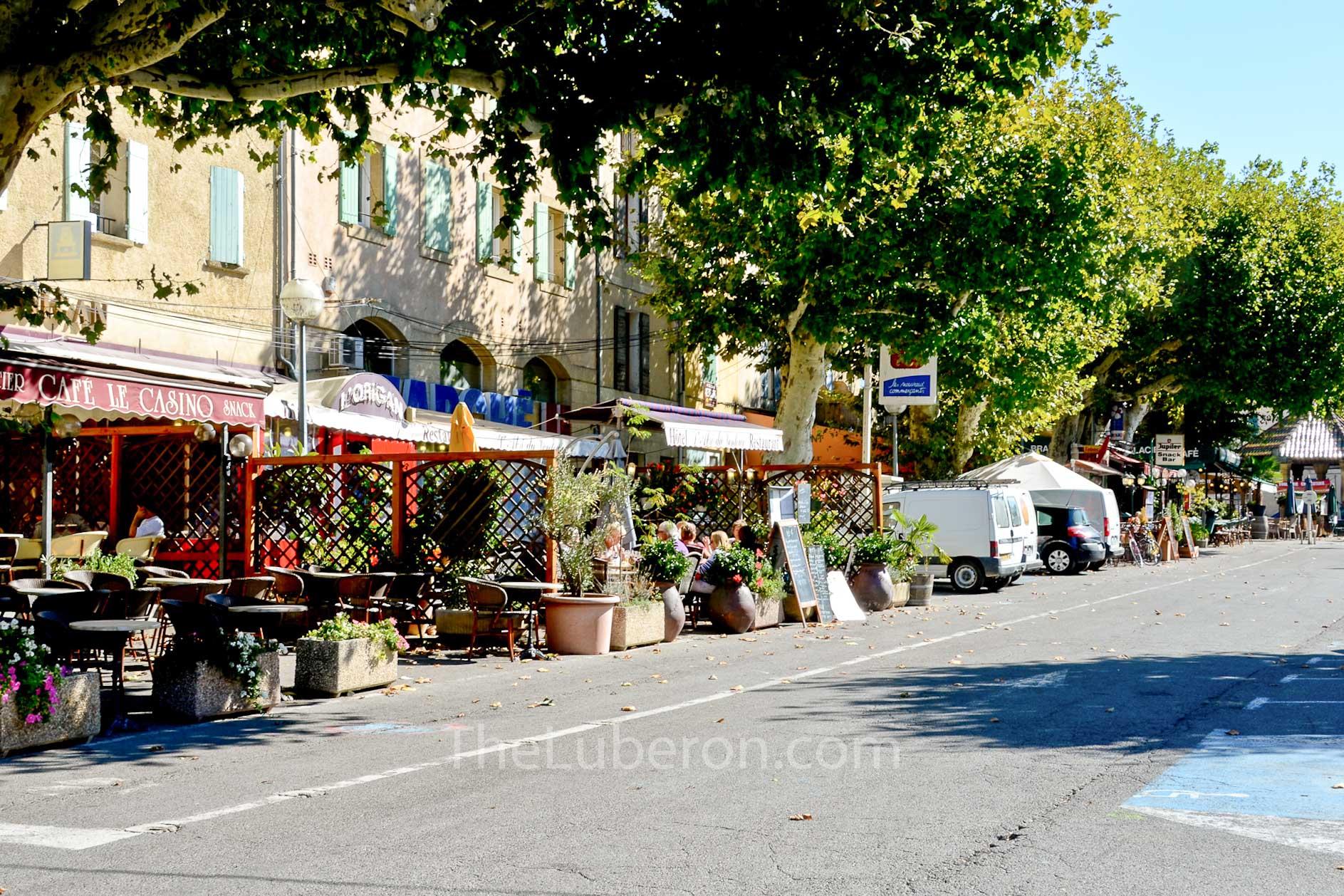 Malaucene high street