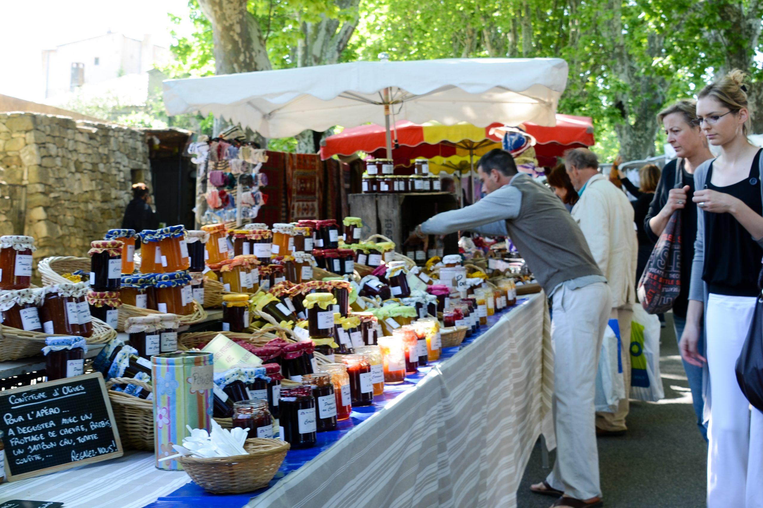 Jam at Lourmarin market