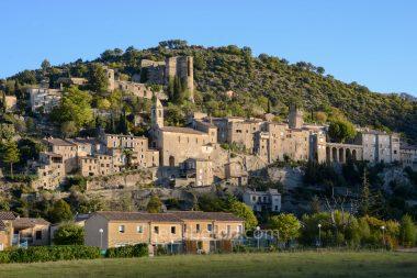 Montbrun-les-Bains village