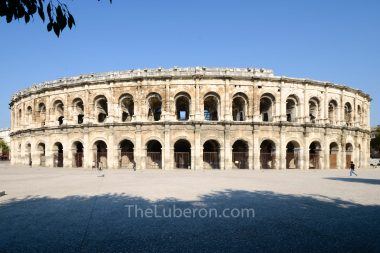 The arenes in Nimes