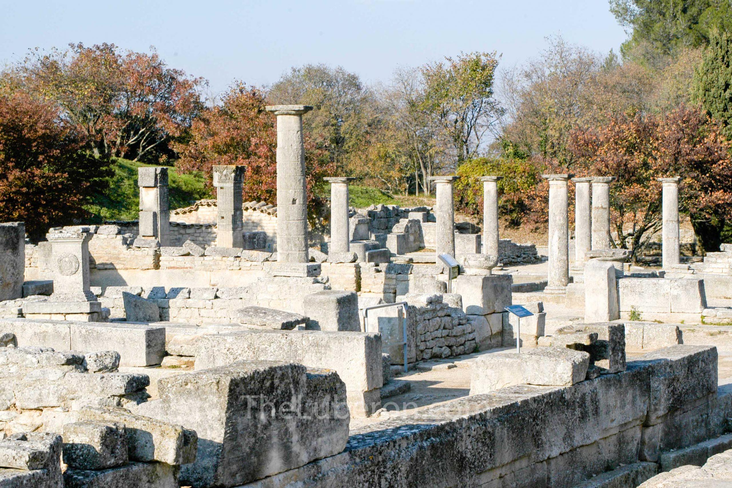 Roman remains Glanum