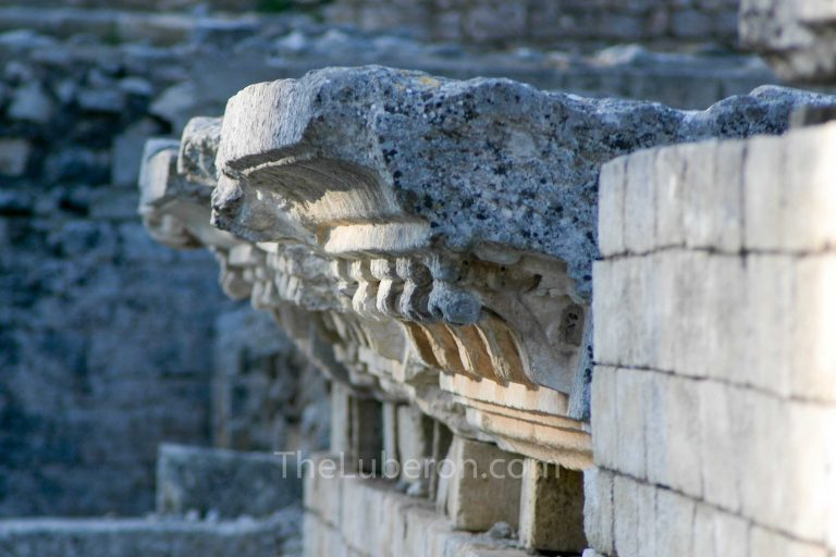 Detail of pediments Glanum