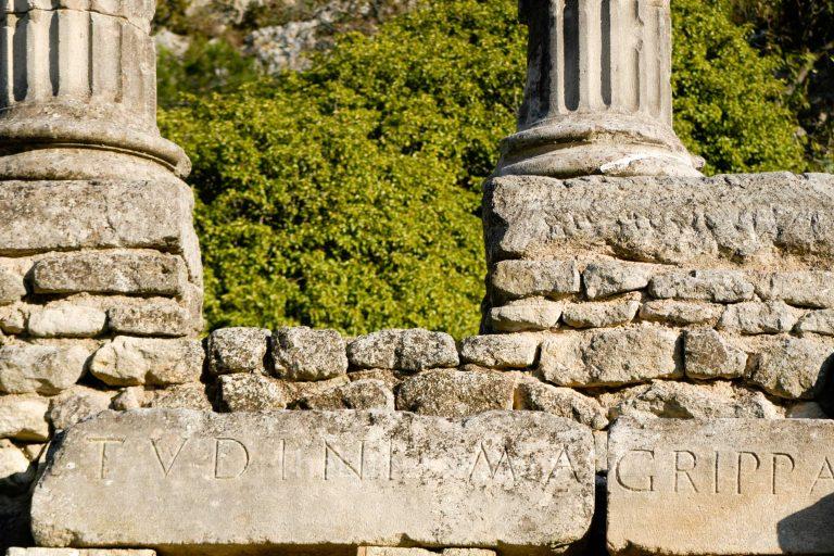 Inscription at Glanum