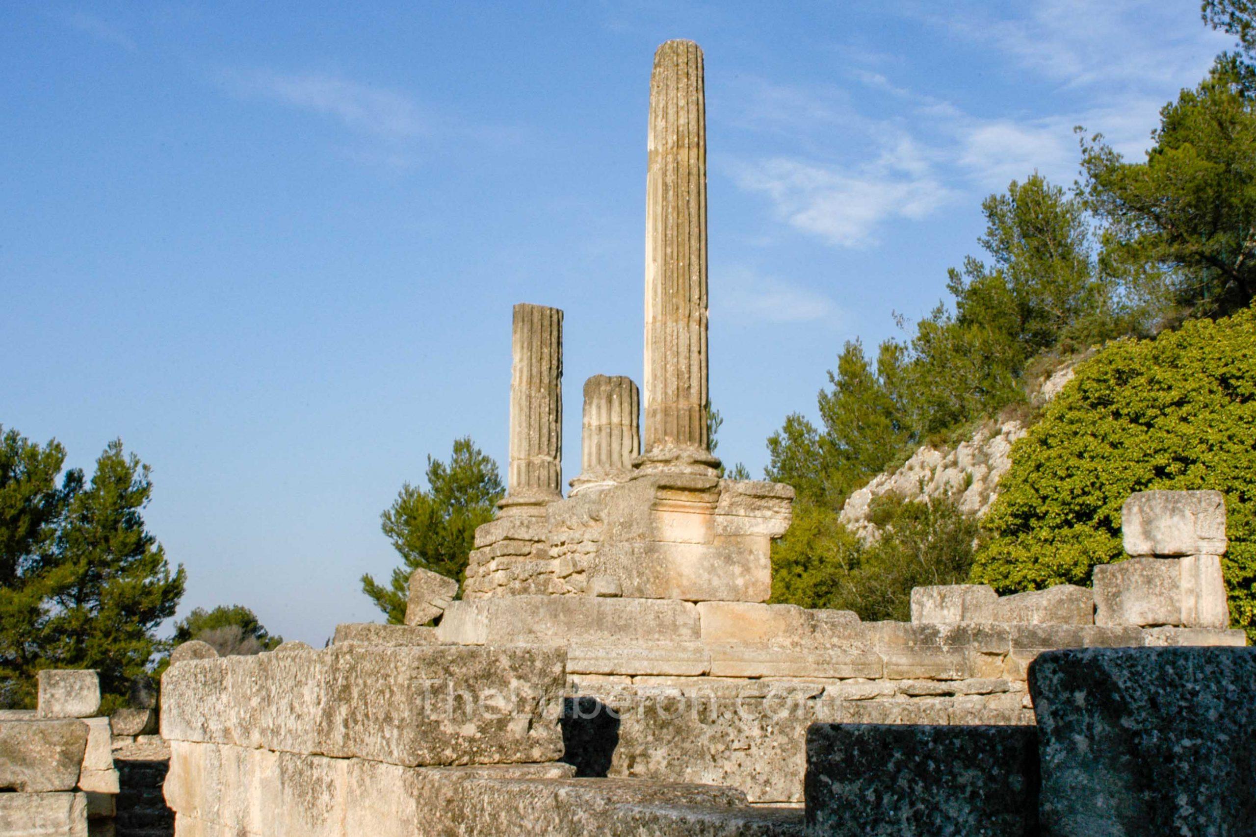 Columns at Glanum