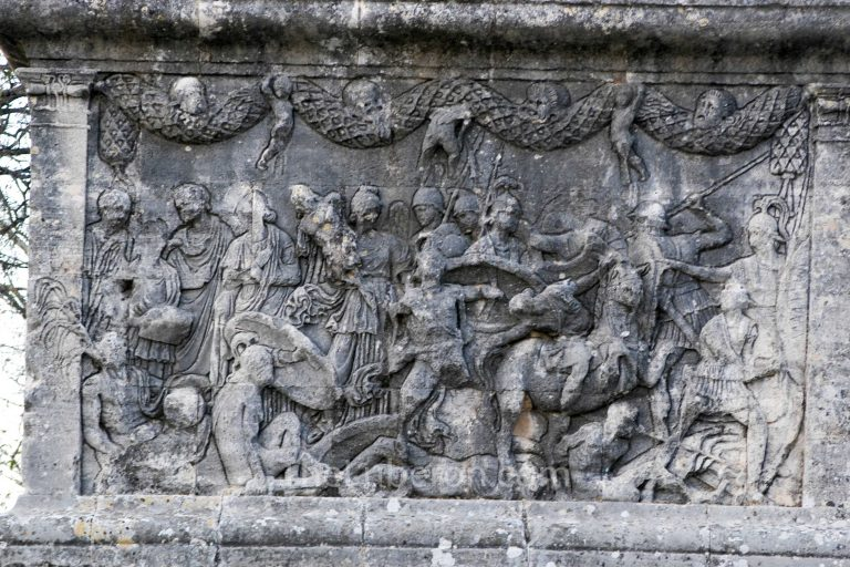 Arch detail at Glanum