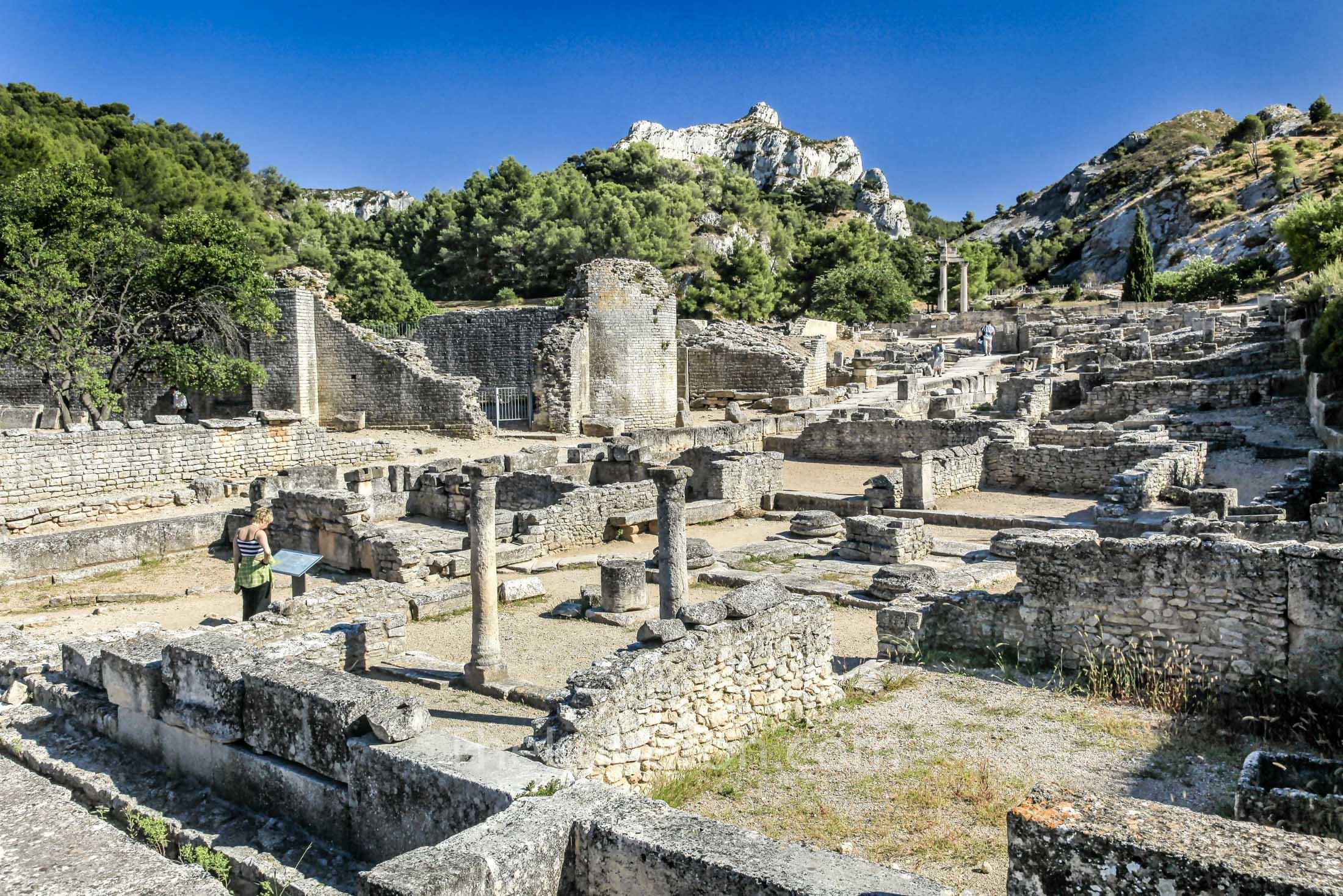 Roman remains at Glanum