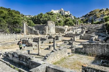 Roman town of Glanum