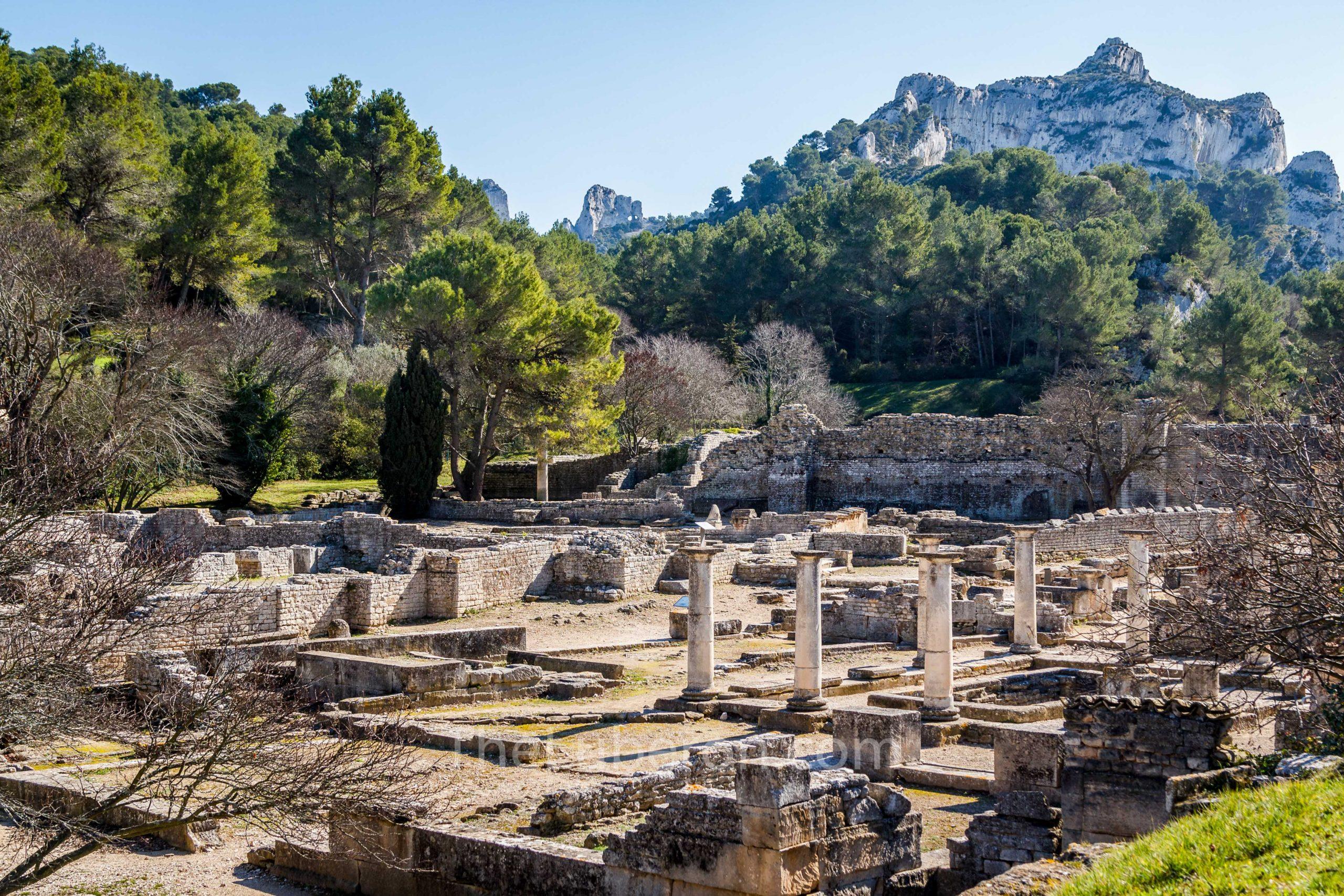 Roman ruins at GlanumGlanum