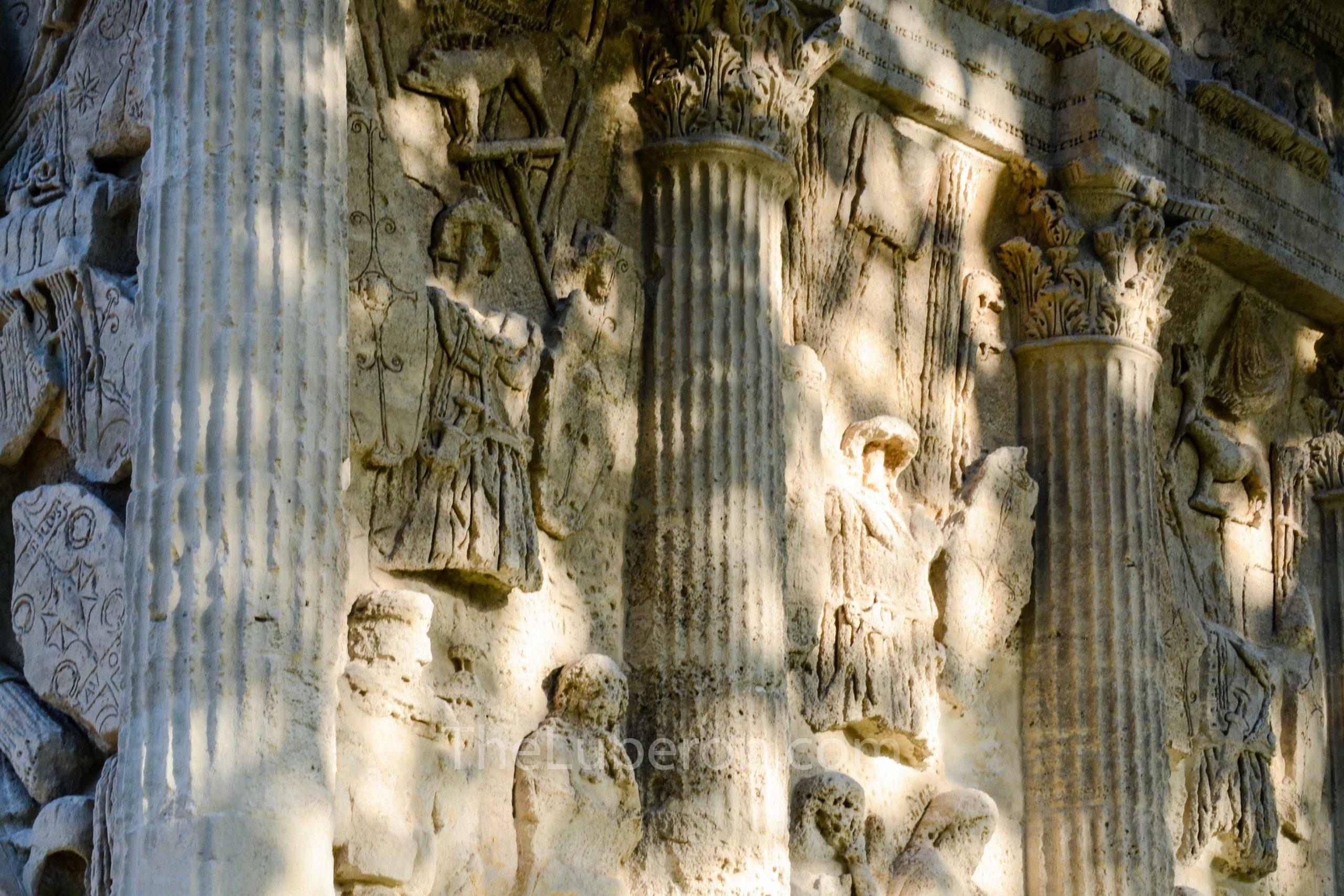 Carvings at Orange