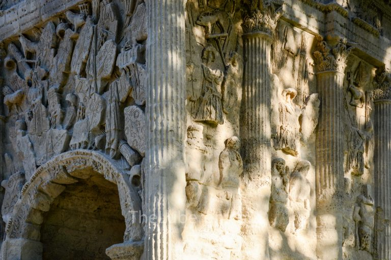 Roman carvings, Orange