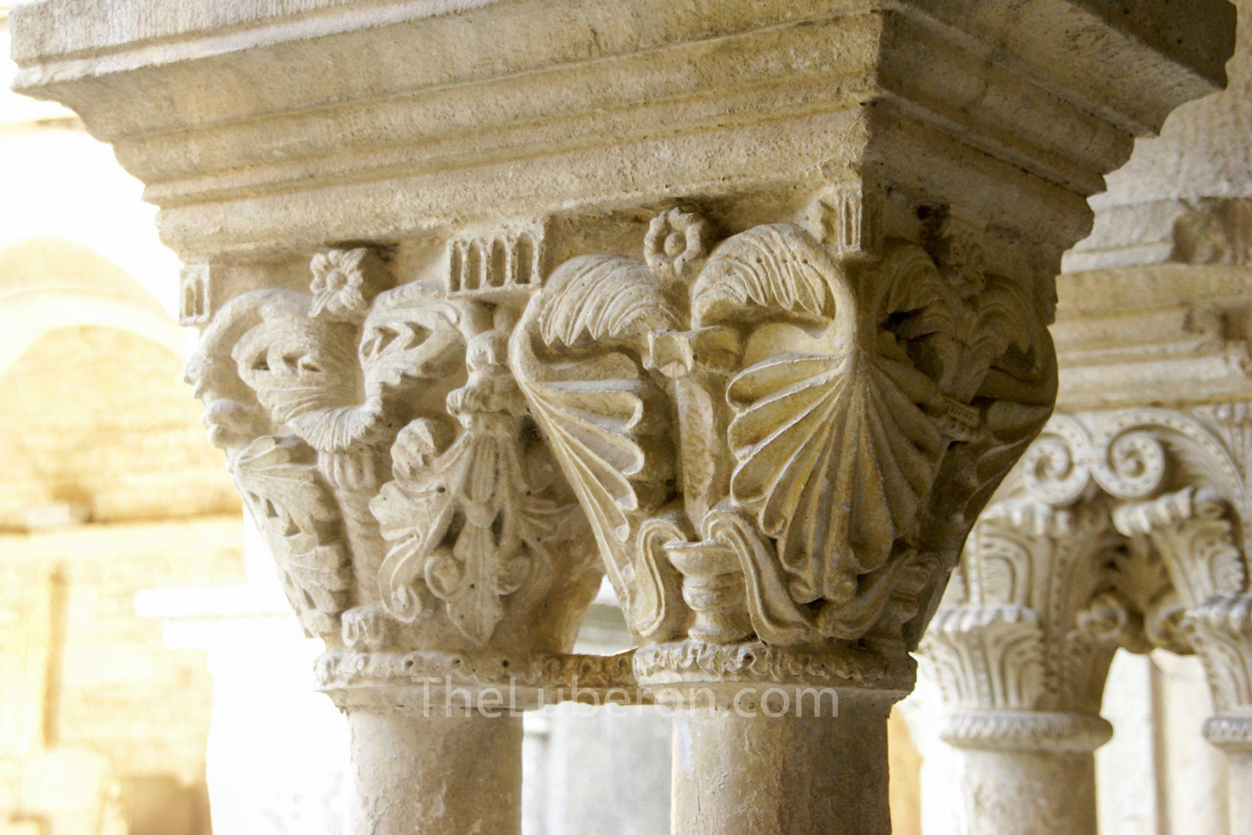 Roman columns at Vaison-la-Romaine