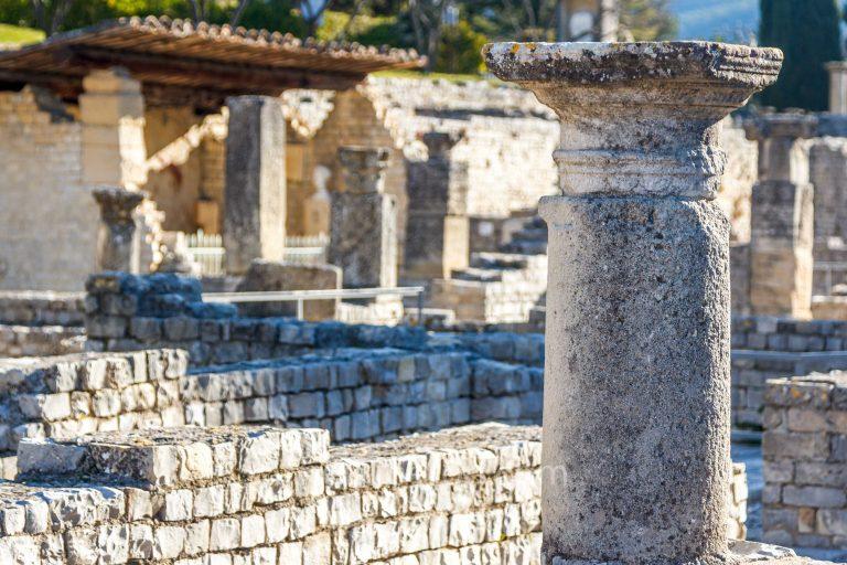 Roman remains at Vaison-la-Romaine