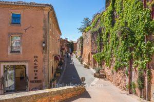 Roussillon village scene