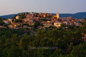 Twilight in Roussillon