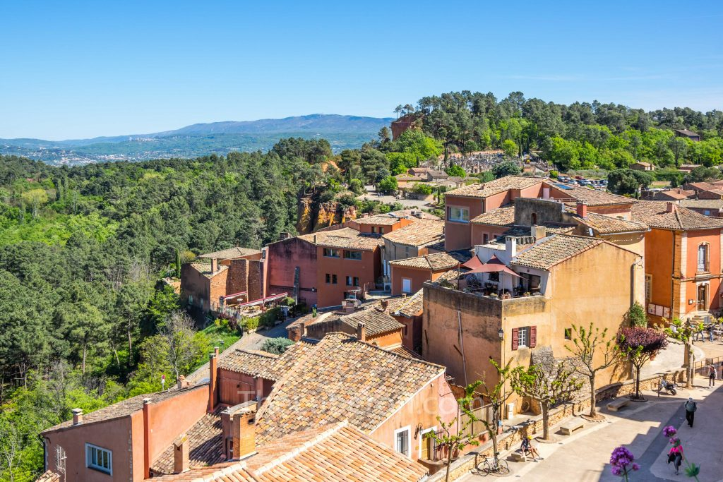 View from Roussillon
