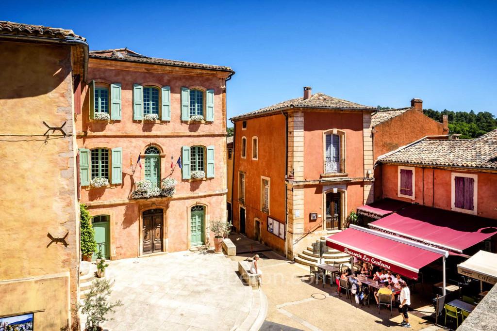 Roussillon village centre