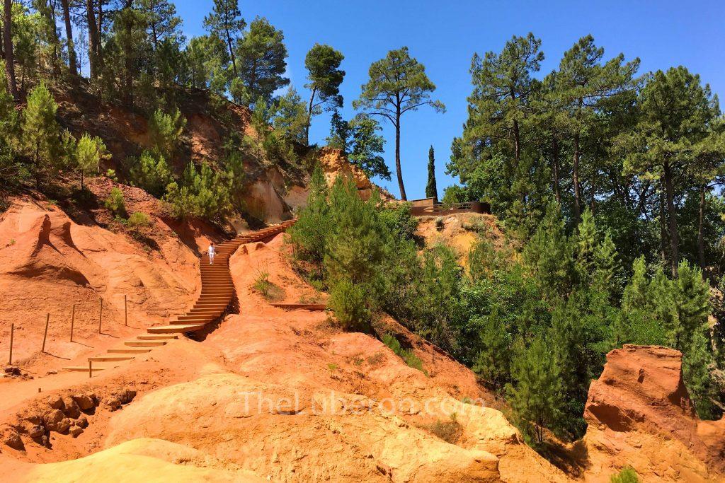 Roussillon quarry path