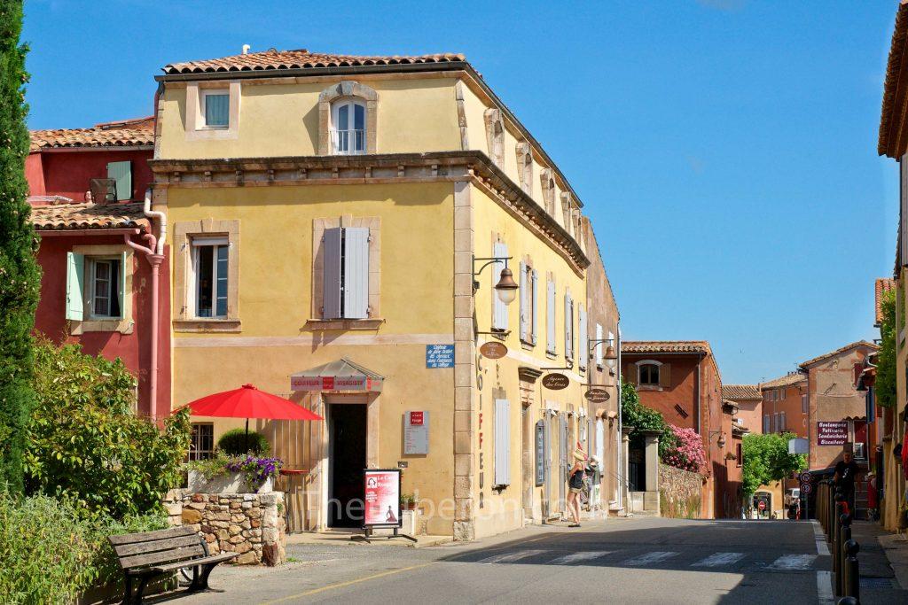 Roussillon town centre