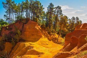 Roussillon ochre quarry