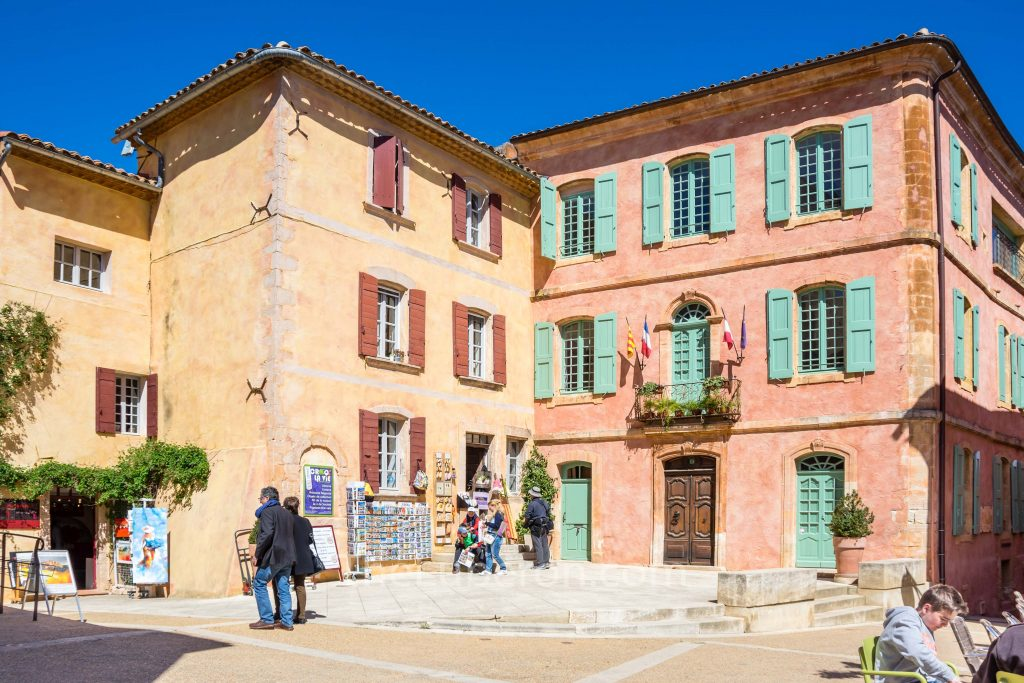 Roussillon centre town hall