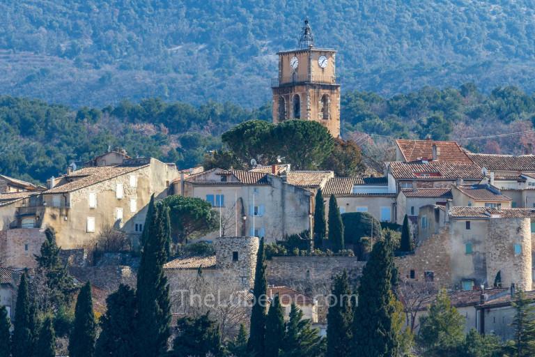 Sablet church tower