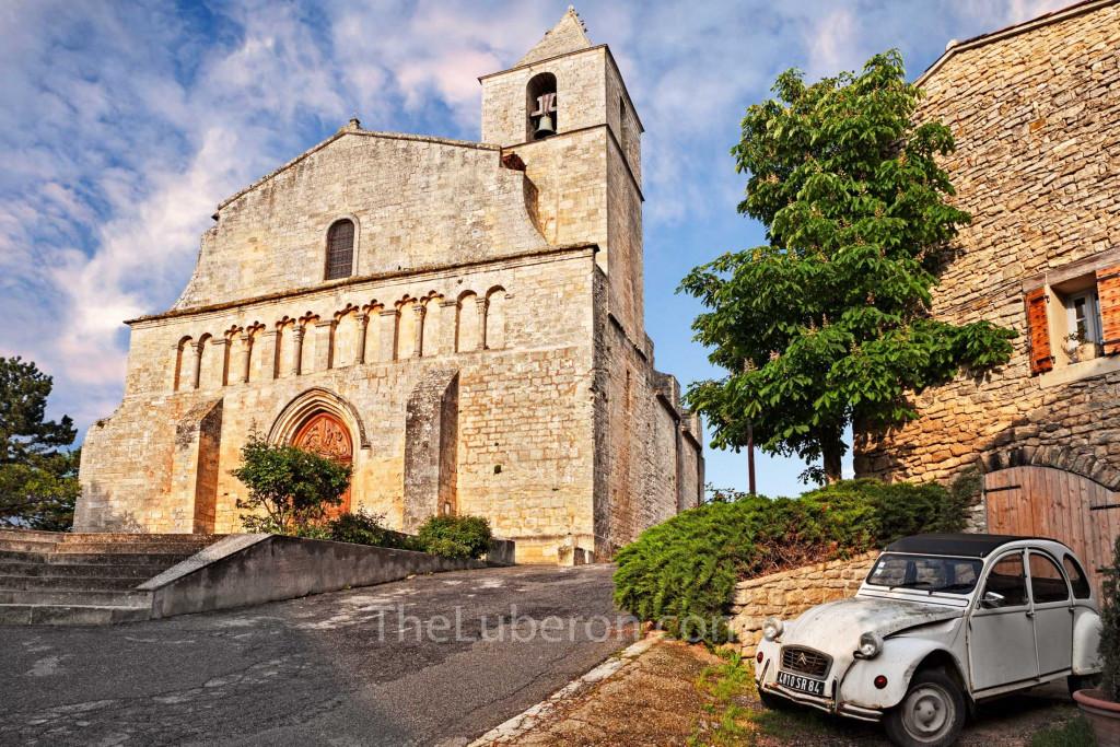 church in Saignon