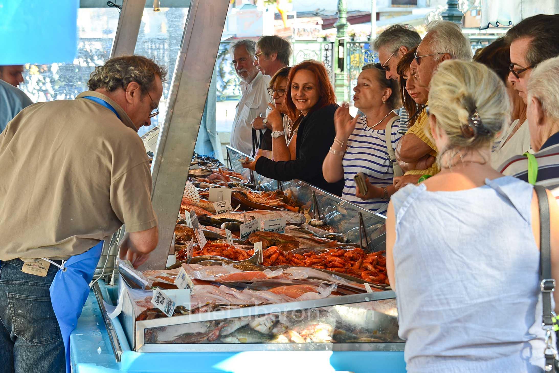 Fish market at Sanary-sur-Mer