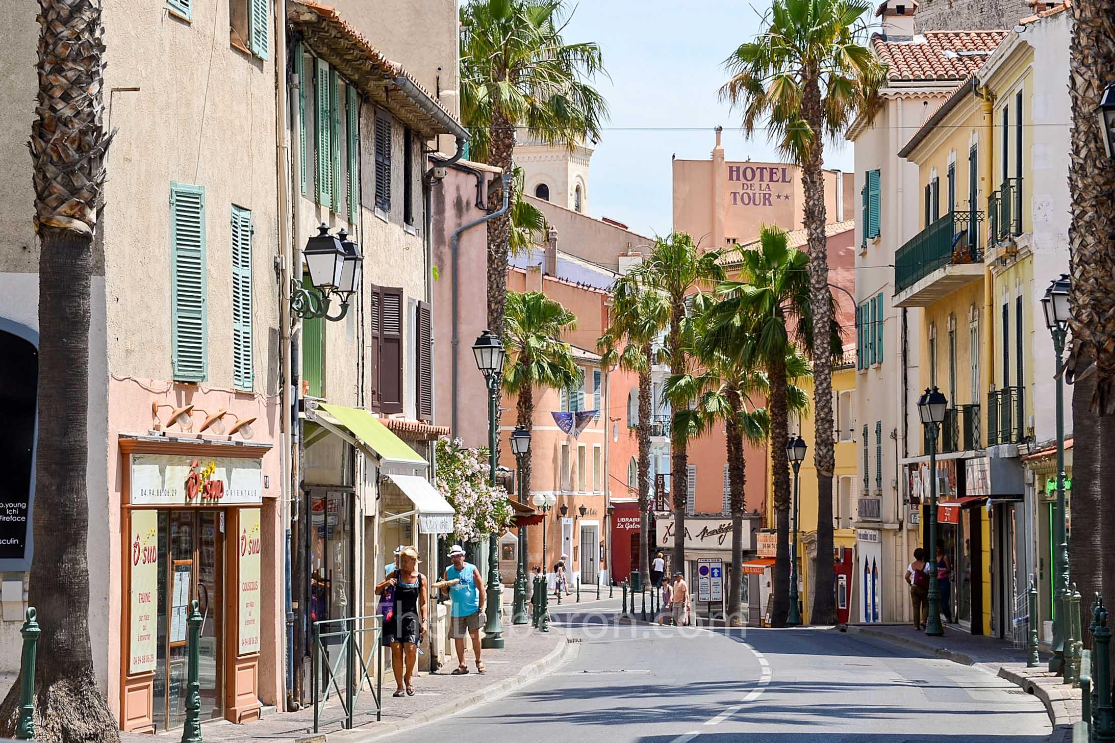 Street of Sanary-sur-Mer