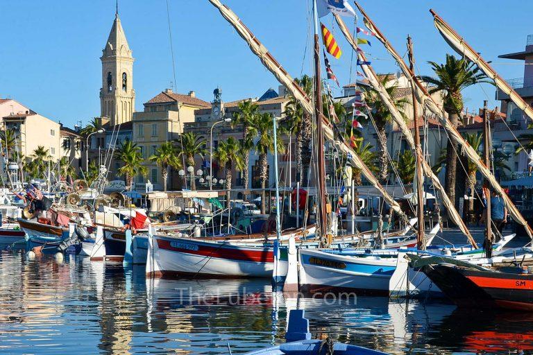 Sanary-sur-Mer harbour