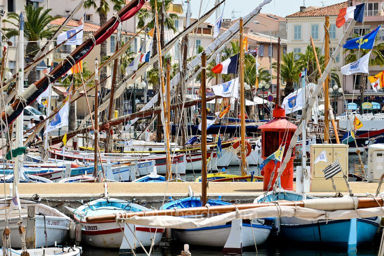 Harbour boats at Sanary-sur-Mer