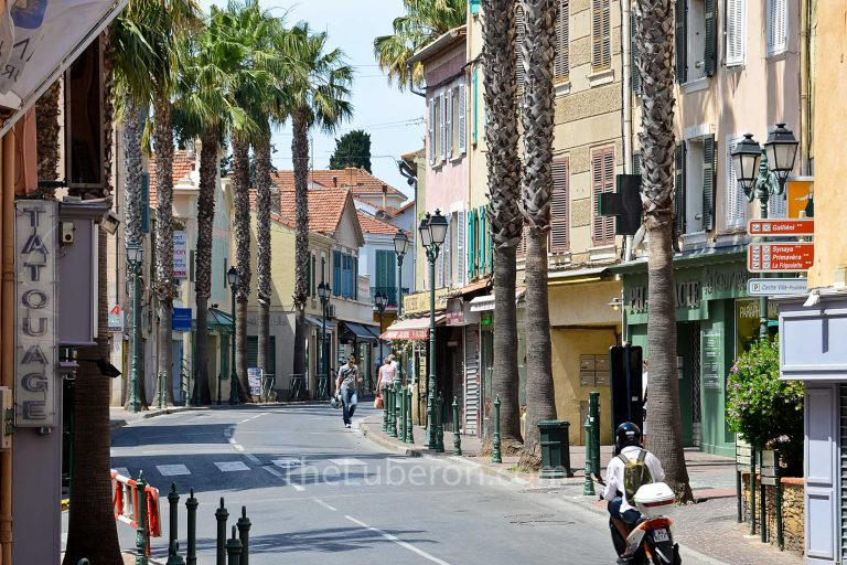 Town centre of Sanary-sur-Mer