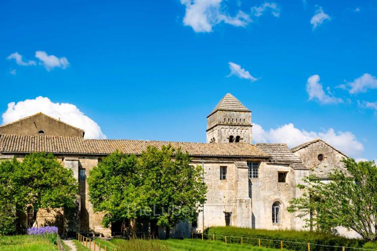 Monastery of Saint-Paul de Mausole in St-Remy-de-Provence