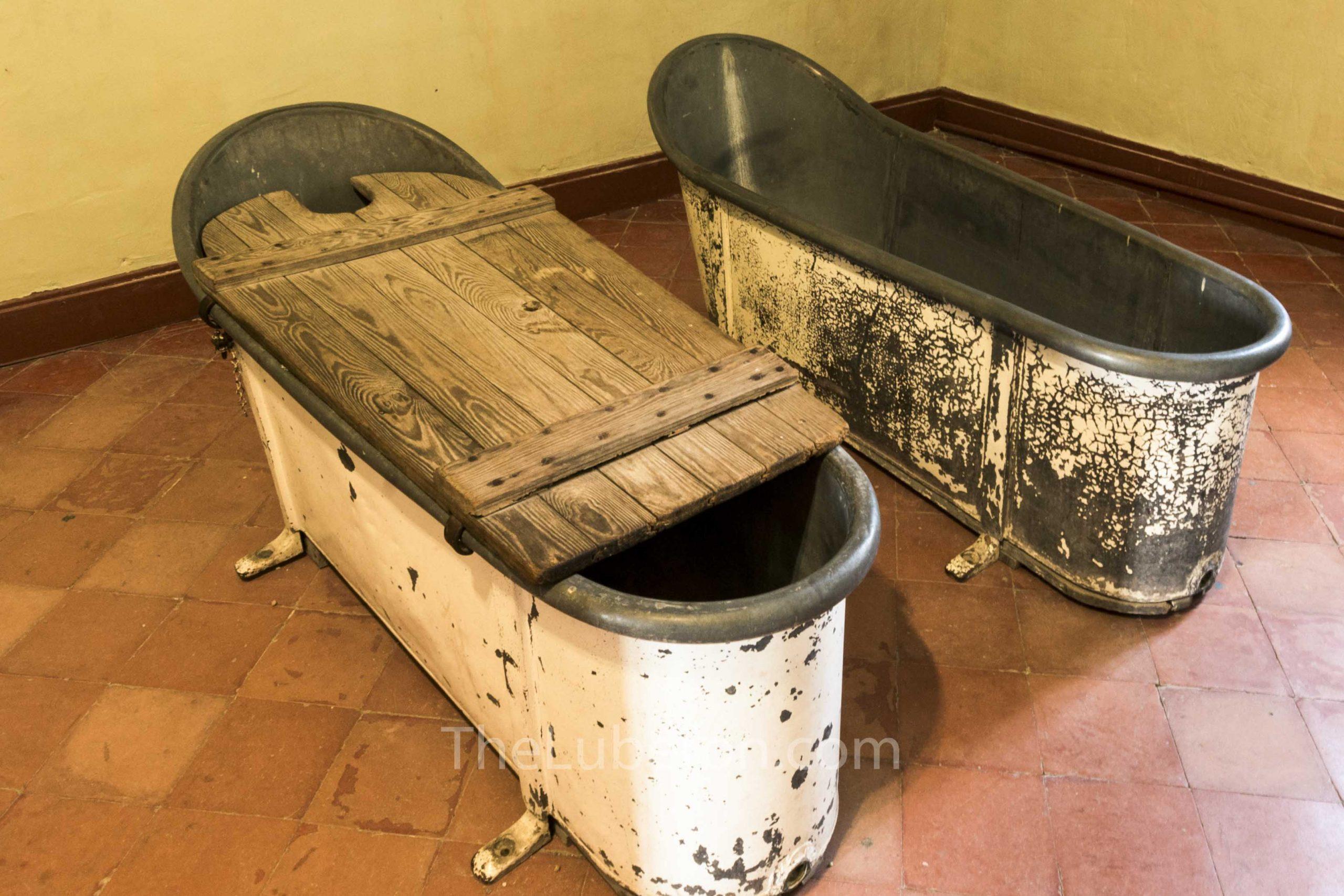 Bath tubs at Saint-Paul de Mausole in St-Remy