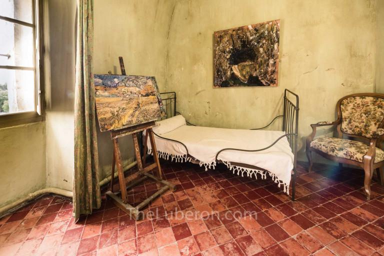 Van Gogh's bedroom at Monastery of Saint-Paul de Mausole