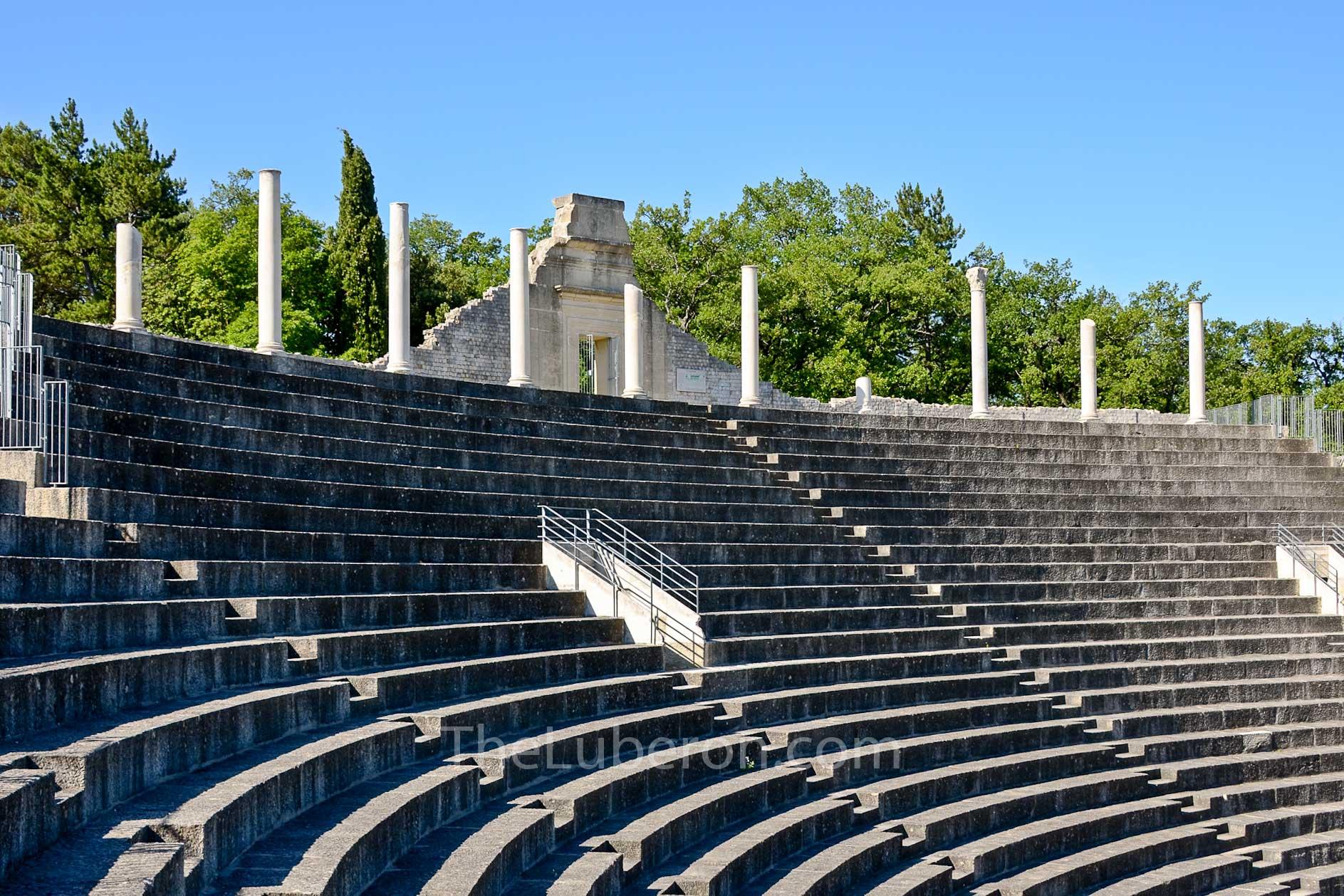 Roman theatre at Vaison-la-Romaine