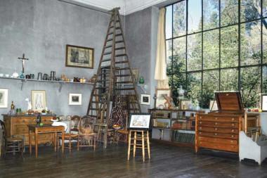 Cezanne's studio, Aix-en-Provence