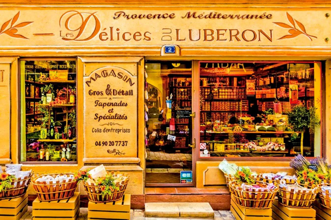 Luberon shop front